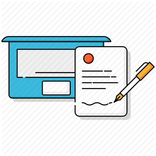 Business, Content, Digital, Marketing, Story, Text, Writing Icon