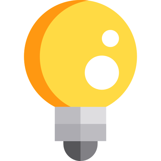 Light Bulb Creativity Png Icon