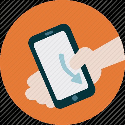 Mobile, Scroll, Scroll Down, Simulation, Swipe, Technology, User