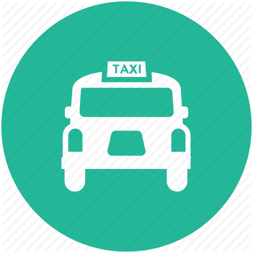 Cab, Car, Coupes, Taxi, Taxi Van, Vehicle, Vehicle For Hire Icon