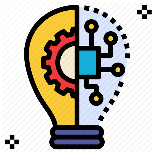 Idea, Innovation, Process, Science, Technology Icon