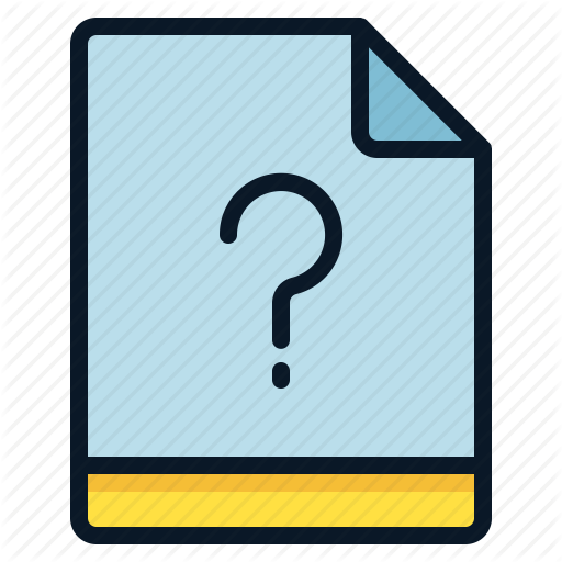 , Miscellaneous, Question, Unknown Icon
