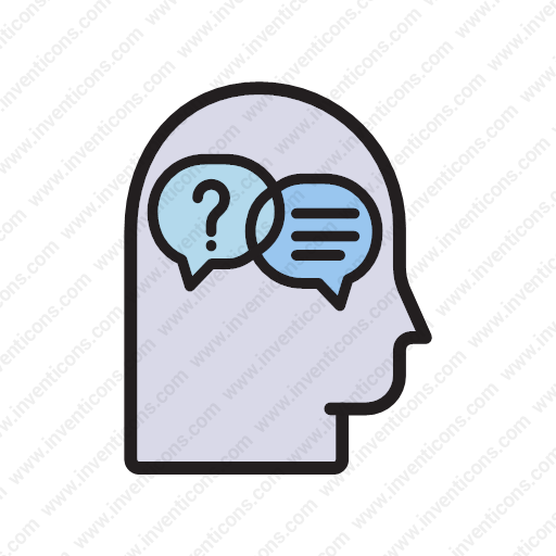 Download Questions And Answers Icon Inventicons