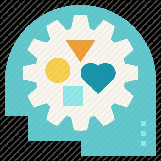 Creative, Life, Logic, Management, Self, Skills, Thinking Icon