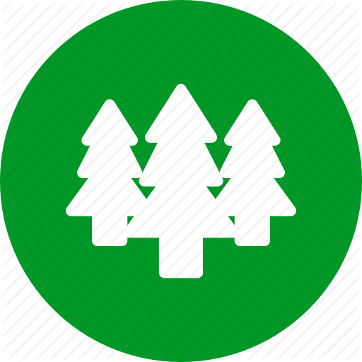 Forest, Hiking, Nature, Trees Icon