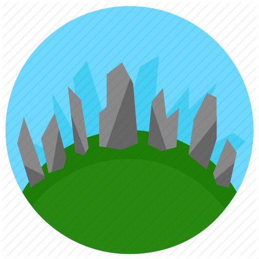 Forest, Stone Icon