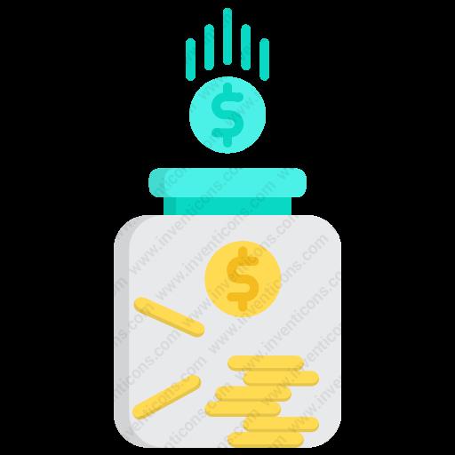 Download Fund Icon Inventicons