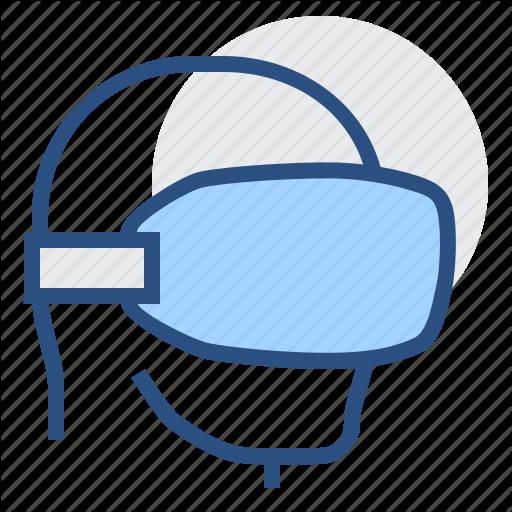 Apparatus, Headpiece, Helm, Helmet, Imaginary, Unreal, Vr Icon