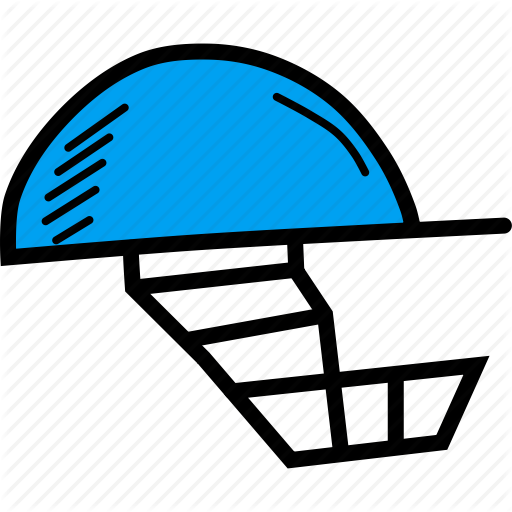 Cricket, Gear, Head, Helmet, Protection, Safety Icon