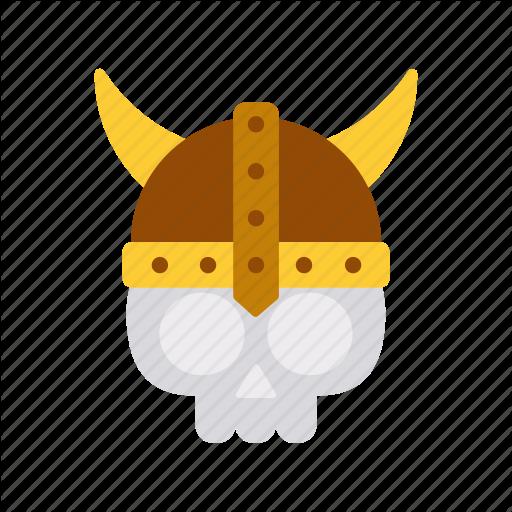 Dead, Fancy, Game, Helmet, Medieval, Skull, Viking Icon
