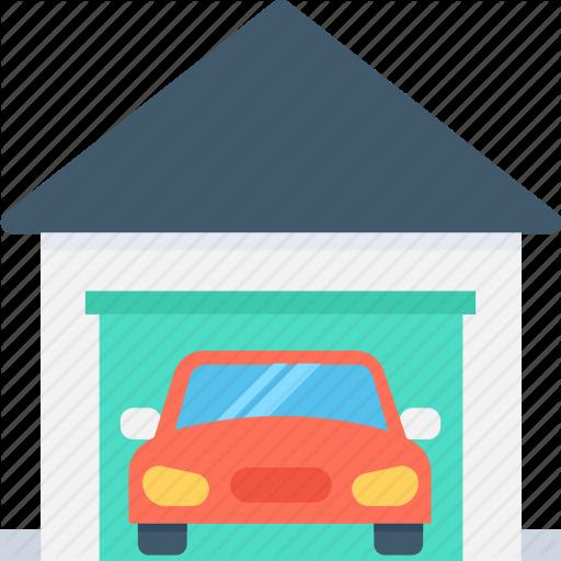Car, Car Garage, Car Porch, Garage, Parking Icon
