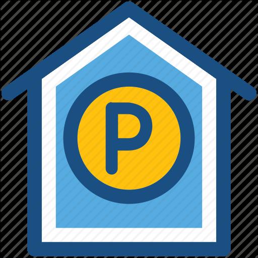 Car Garage, Car Porch, Garage, Garage Service, Parking Icon