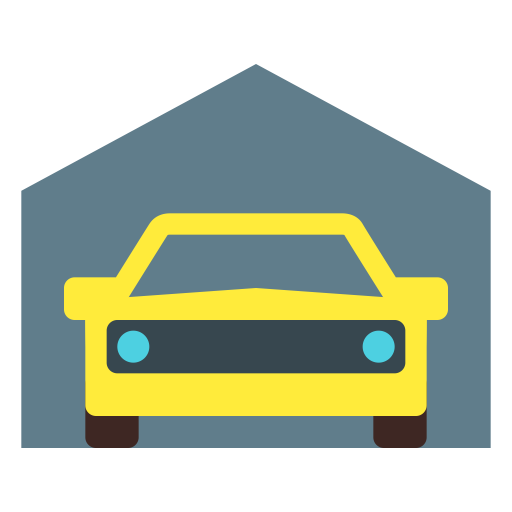 Garage, Home Garage, Parking Icon With Png And Vector Format