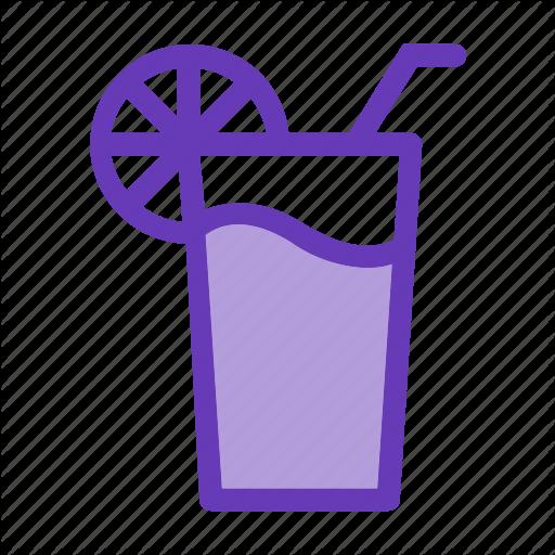 Drink Icon, Glass, Juice, Lemon, Shots Icon