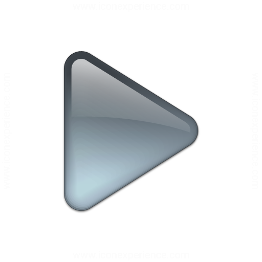 Iconexperience V Collection Bullet Triangle Glass Grey Icon