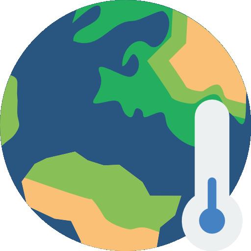 Global Warming Icon Ecology Smashicons
