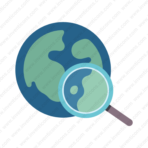Download Global,search Icon Inventicons
