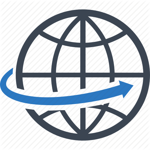 Global Business, Global Communication, Globe, Worldwide Icon