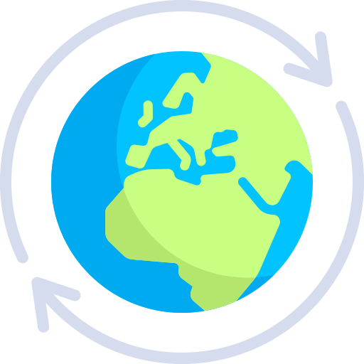 Globalization, Global, Worldwide Icon With Png And Vector Format