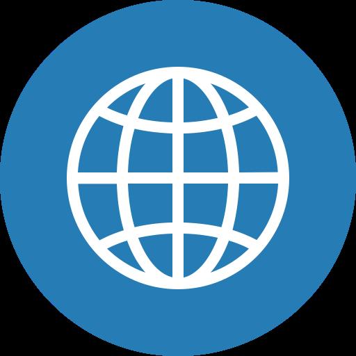Global, Globe, International, Language, World, Circle, Travel Icon