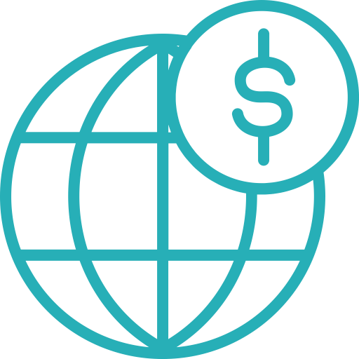 Global Outline Icon