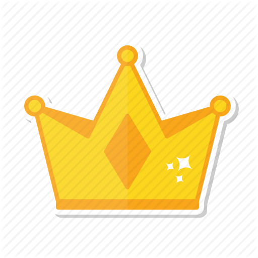 Crown, Gold, King, Queen Icon