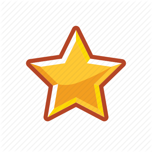 Gold, Golden, Rank, Star Icon