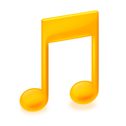 Gold Music Icon Free Icons