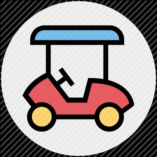Car Carrier, Cart, Golf, Golf Car, Golf Cart Icon