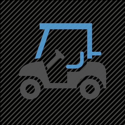 Cart, Golf, Golf Car, Golf Cart, Sport Icon