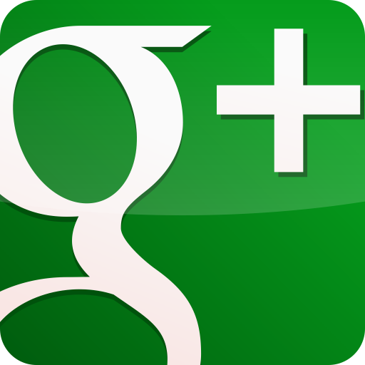 Googleplus Gloss Green Icons, Free Icons In Red Google Plus