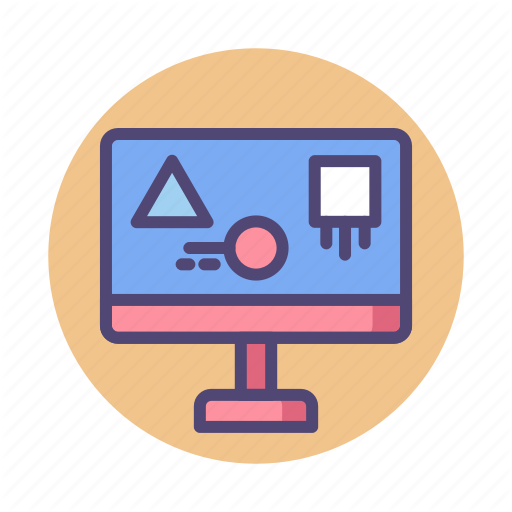 Graphics, Motion, Motion Graphics Icon