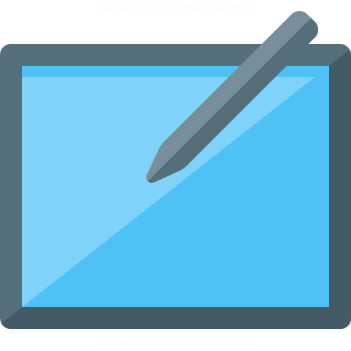 Iconexperience G Collection Graphics Tablet Icon