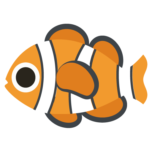Tropical Fish Emoji Vector Icon Free Download Vector Logos Art