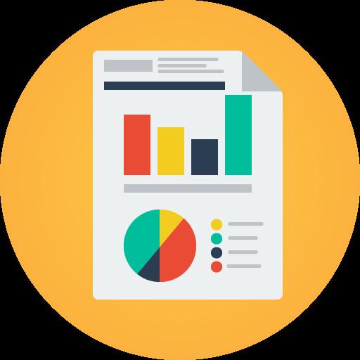 Graphs, Analytics, Business Icon Free Of Modern Flat Icon Set