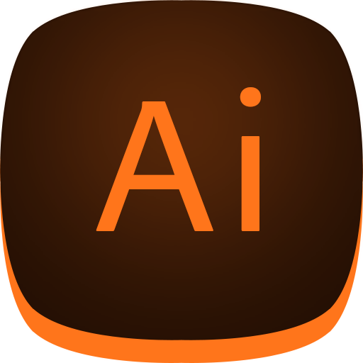 Illustrator Flat Icon