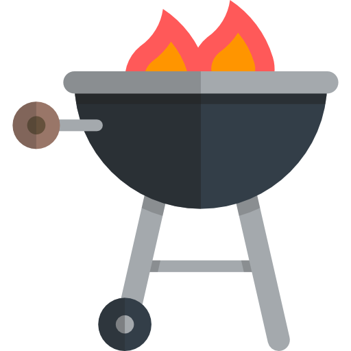 Barbecue, Cooking Equipment, Grill Icon