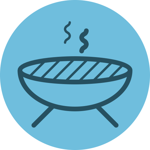 Grill Icon Free Of Of July Icons