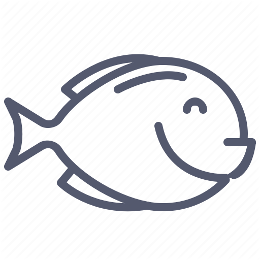 Fish, Grill, Menu, Seafood Icon