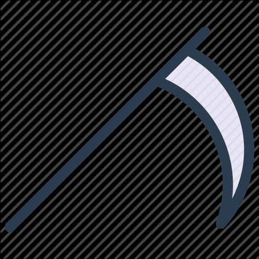 Grim, Reaper, Scythe, Weapon Icon