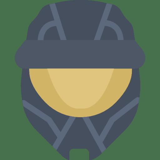 Spartan Halo Helmet Icon