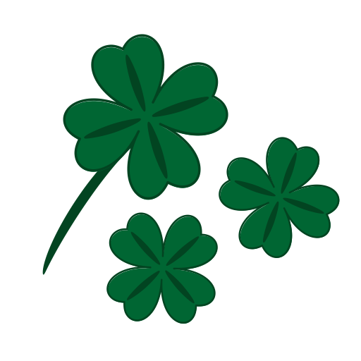 Clover, Fortune, Leaf, Luck, Patrick, Quatrefoil, Success Icon