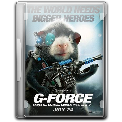 G Force Icon English Movie Iconset Danzakuduro