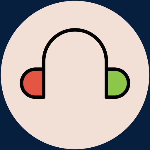 Cartoon Headphones Icon, Cartoon Clipart, Headphones Clipart