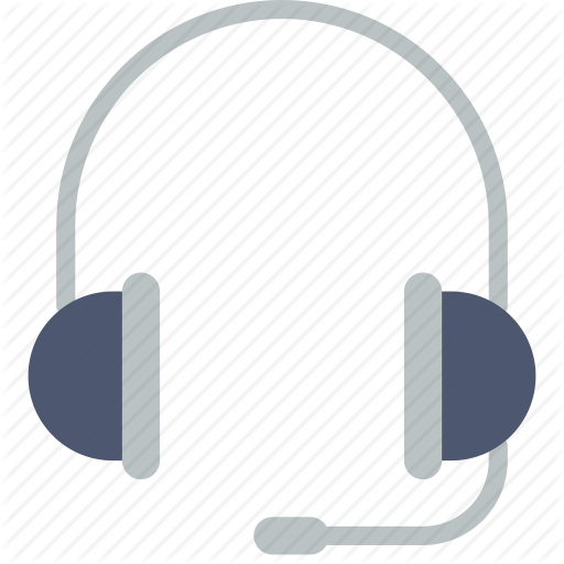 Headphones, Headset, Support Icon