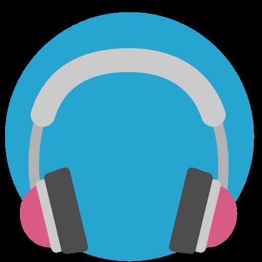 Mixed Headphones Icon