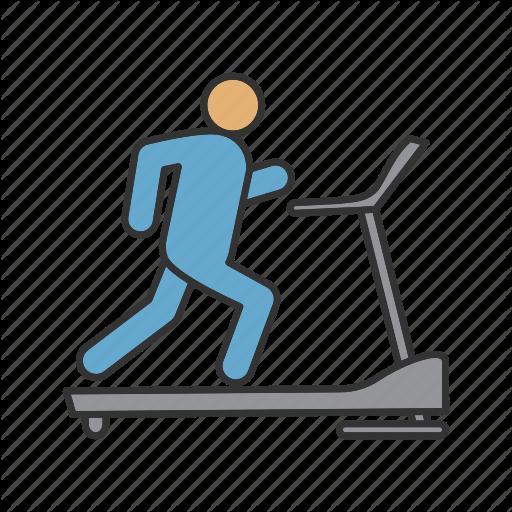 Cardio, Exercise, Fitness, Gym, Run, Treadmill, Workout Icon