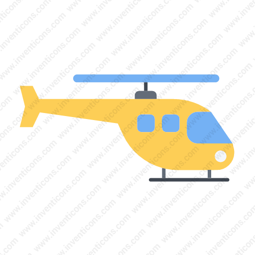 Download Transport,helicopter,flat Icon Inventicons