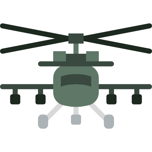 Helicopter, Chopper, Aircraft, Transportation, Transport, Flight Icon