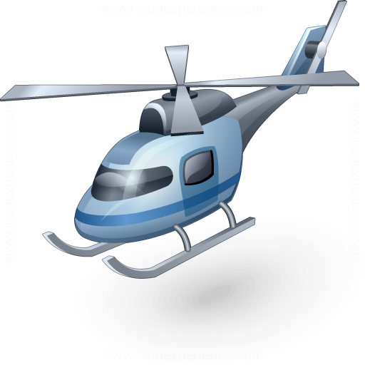 Iconexperience V Collection Helicopter Icon